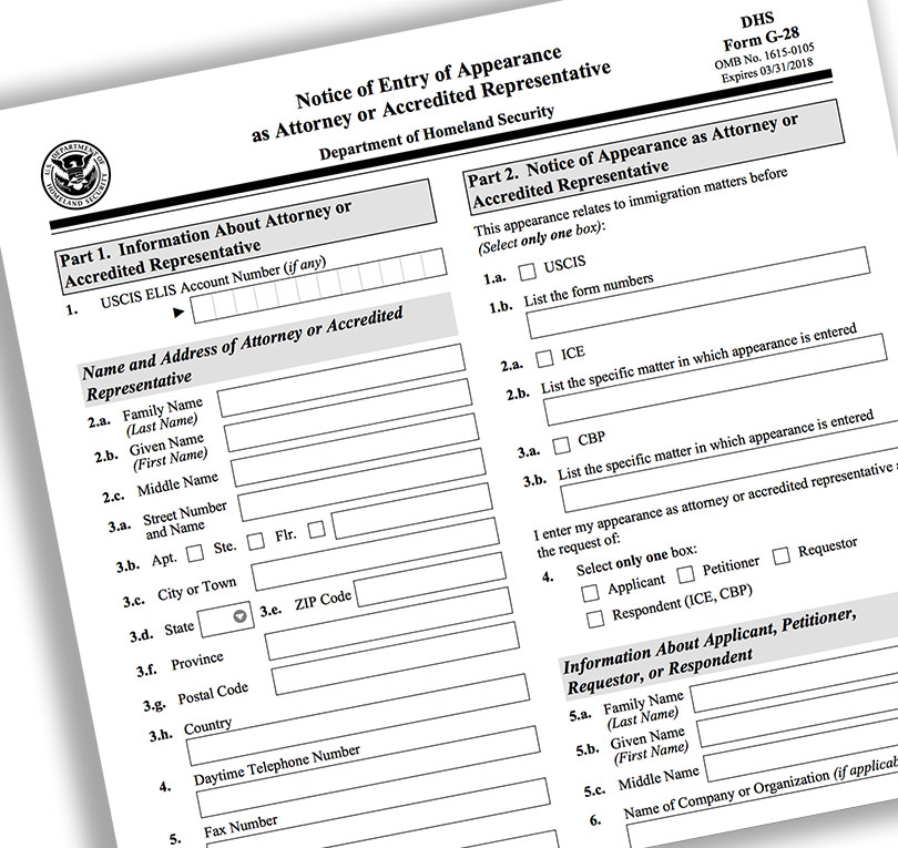 Who Can File Immigration Cases?